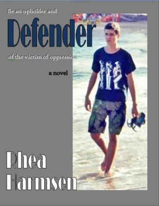 Cover for the novel called DEFENDER
