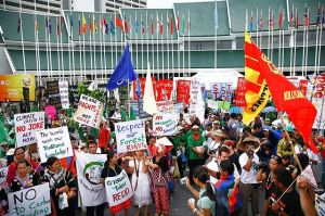 Civil society and global activism pressure governmental organizations
