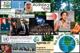 The Earth Summit in Rio de Janeiro in 1992 was also the site of the Global Forum