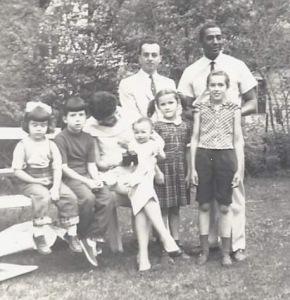 Brazilian friends Flavia and Newton invited Ed to settle in Brazil in 1959.
